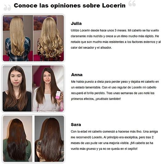 ✓LOCERIN Premium, contra la pérdida de cabello en las ...