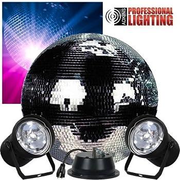Amazon Com American Dj M 502l 12 Inch Mirror Ball Package