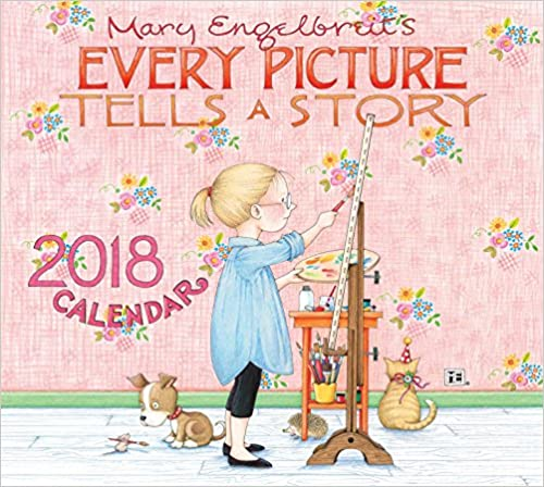 Free Download Mary Engelbreit 2018 Deluxe Wall Calendar: Every ...