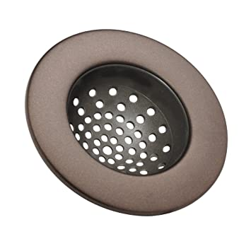 interdesign axis kitchen sink strainer bronze - Kitchen Sink Strainer