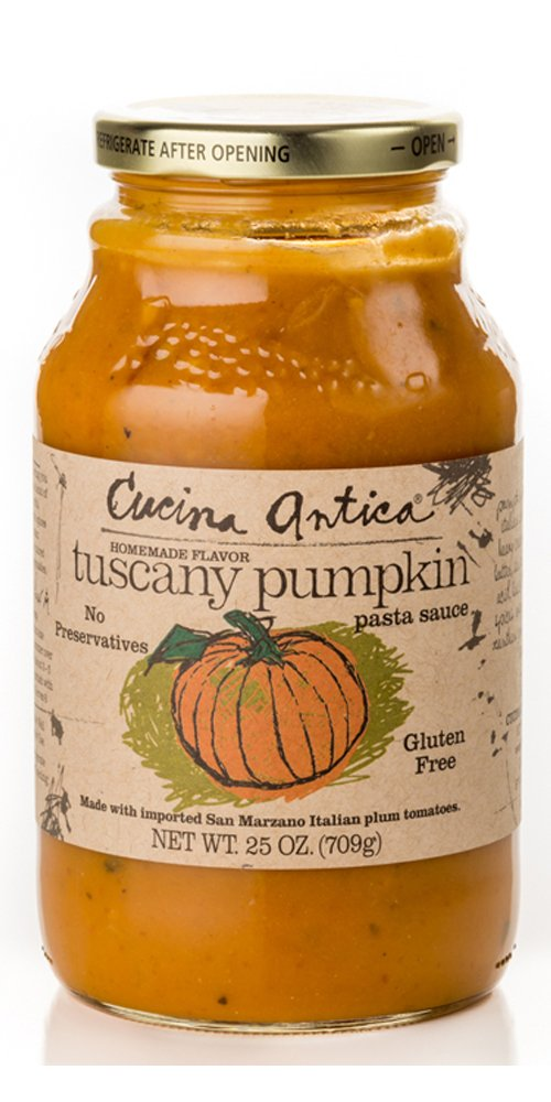 Cucina Antica Foods Tuscany Pumpkin Jars, 2.29 Pound (Pack of 6)