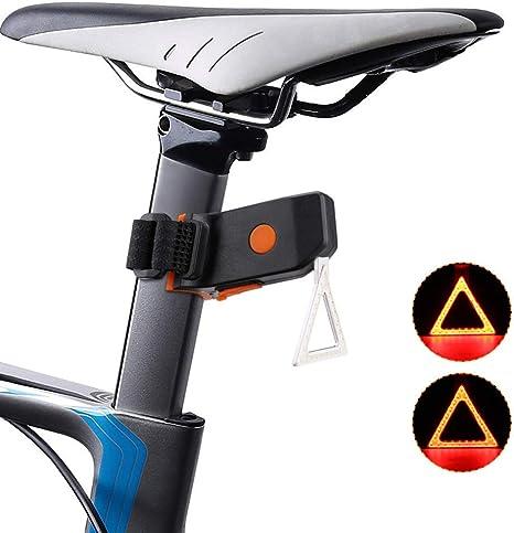 WXCCK Luz de Bicicleta, Carga USB Luz de Cola de Bicicleta Alto ...