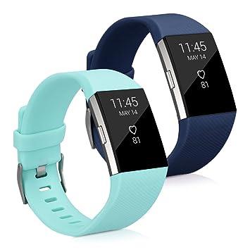 2x Sportarmband für Fitbit Charge 2 Fitnesstracker Smartwatch Sport Armband Uhr