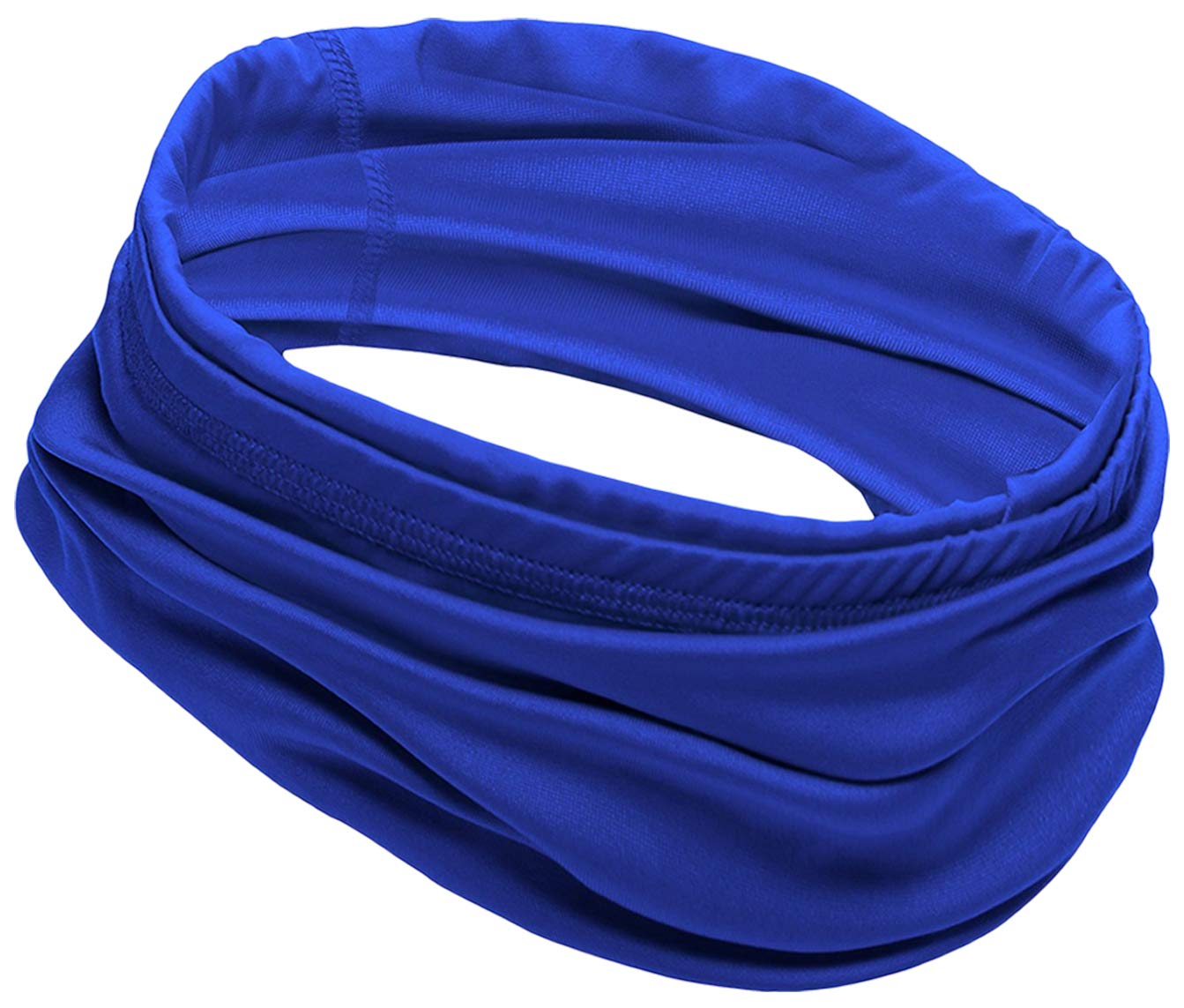 12-in-1 Cooling Neck Wrap, Gaiter, Bandana, Headband or Scarf for Men & Women - Versatile Cool Headwear for Summer Heat - UPF 50 Head Wrap for Sun Protection - Skin Cancer Foundation Recommended