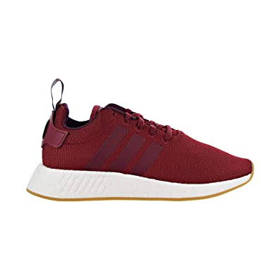 Adidas NMD R1 Schuhe Weiß Herren Core Maroon Grau