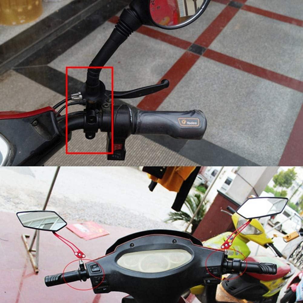 WAINEO Fixation de Guidon de Moto pour Moto Fixation de Guidon r/étroviseur lat/éral Adaptateur de Fixation