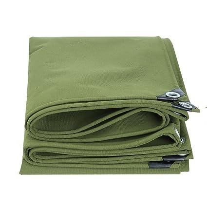 JNYZQ Lona Impermeable Resistente Resistente Hoja de Lona Verde Grande Aislamiento de Lona Trampa al Aire