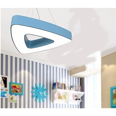 XHOPOS HOME Lumières suspendue chambre enfants éclairage bleu couleur lumière blanche 45cm Plafonniers lamp