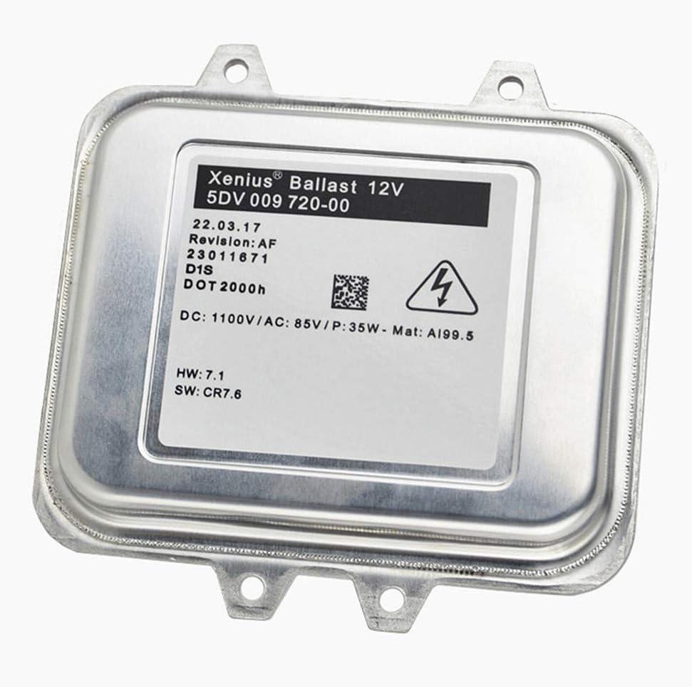 JJZXZQ Neue Xenon Hid-Vorschaltger/äte Steuereinheit Kompatibel mit Astra J Insignia 5DV009720-00 5DV 009 720 00 1232335