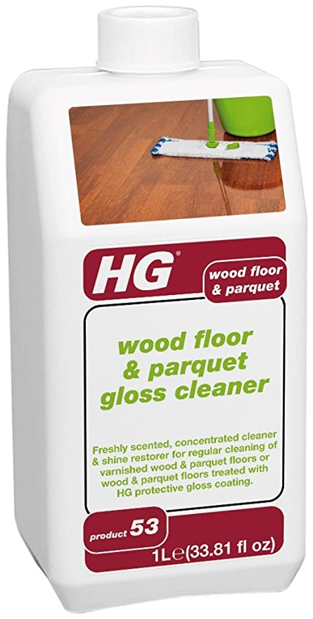 Hg International Wood Floor Parquet Gloss Cleaner Freshly