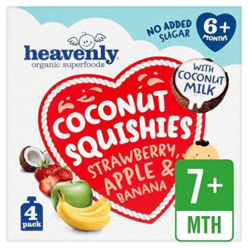 Heavenly Coconut Squishies Strawberry, Apple & Banana – 360g (0.79lbs)