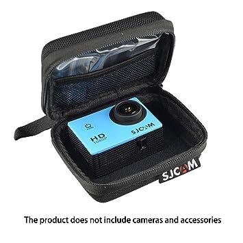 Para SJCAM SJ 6 SJ7 M20 SJ4000 Gopro + 4/3/3/2/1 Xiaomi Yi Camera Sports 4 K – SJCAM impermeable antipolvo antigolpes bolsa para equipaje portátil, ...