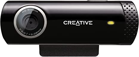 Creative Live!CAM Chat HD - Webcam HD(micrófono Incorporado ...