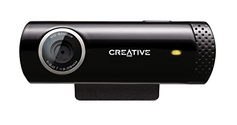 Creative Live!CAM Chat HD - Webcam HD(micrófono Incorporado ...