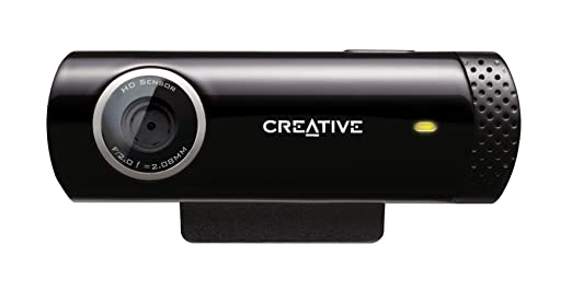 150 opinioni per Creative Live! Cam Chat HD Webcam USB , Nero