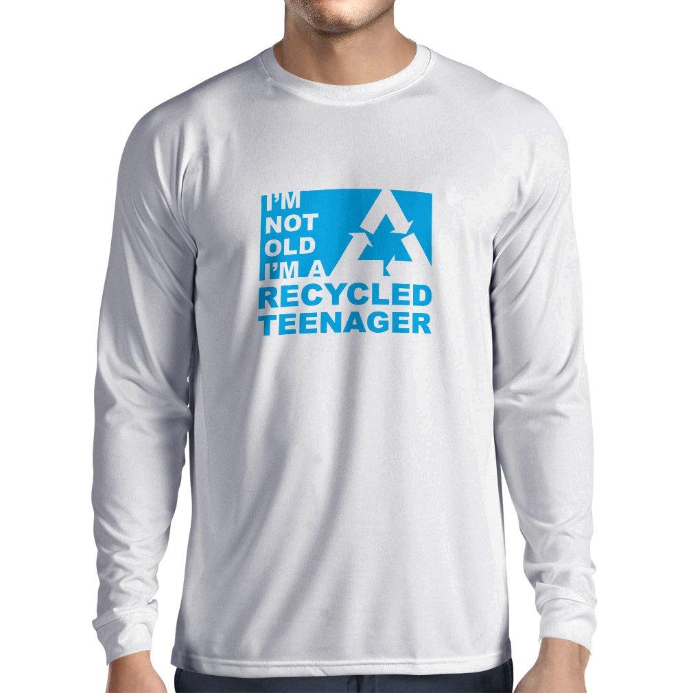lepni.me Men's T-shirt I am not old I'm a Recycled Teenager VACOM ADVARTAIZING Ltd