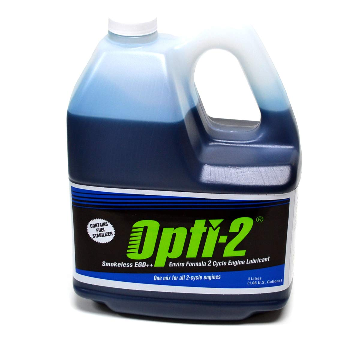Opti-2 Opti One Gallon Bottle 2 Cycle Engine Oil Mix Enviro Formula 20044 by Opti-2