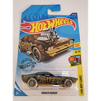 Hot Wheels 2020 Hw Art Cars Rodger Dodger, Black 67/250: Toys & Games