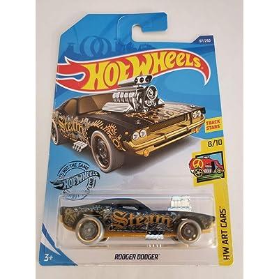 Hot Wheels 2020 Hw Art Cars Rodger Dodger, Black 67/250: Toys & Games