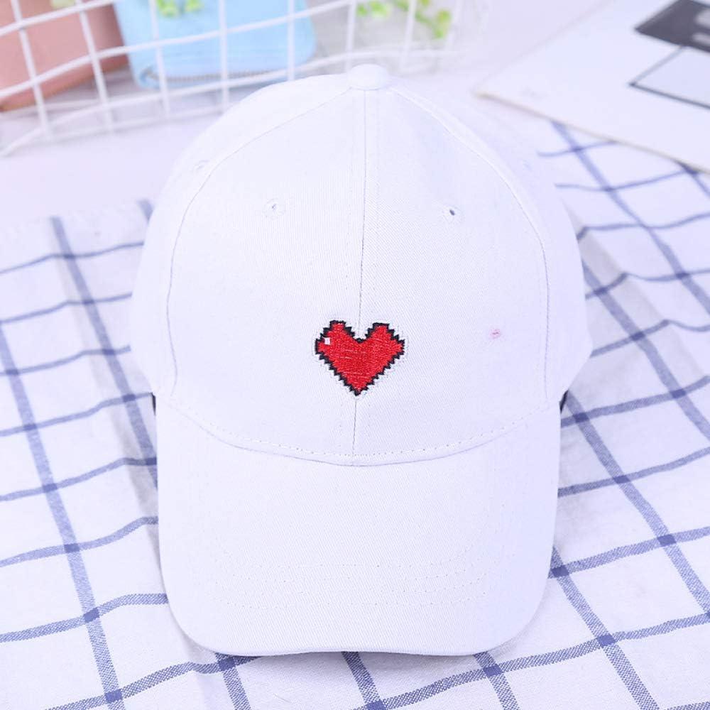 zlhcich Gorra de béisbol Bordada en inglés Versión Coreana de la Marea de Sombrero de Domingo de Pareja Salvaje: Amazon.es: Hogar