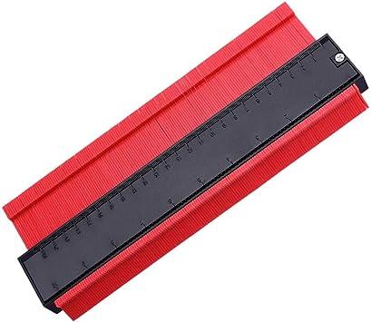 10 Inch Profile Gauge Measure Ruler Contour Duplicator For Precise Measurement
