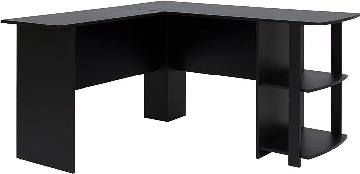 Amazon.com: Picotech estanterías de escritorio en forma de L ...