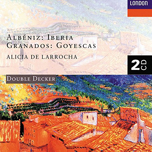 Albéniz: Iberia/Granados: Goyescas (2 CDs) by Alicia De Larrocha on Amazon Music - Amazon.com