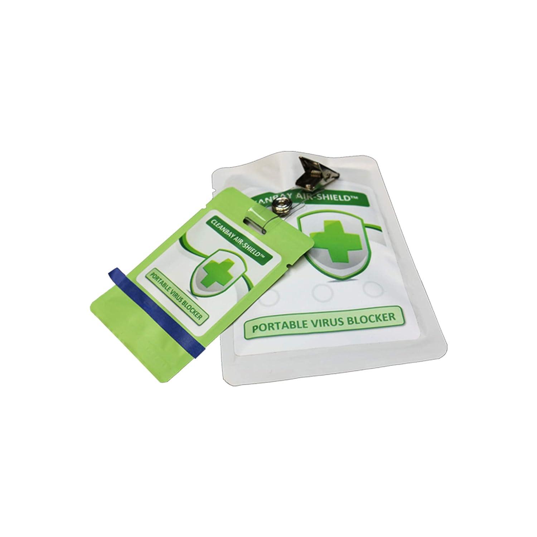 Cleanbay Air Shield Portable Patch Odor Eliminator- No Harmful Residue - Perfected Odor Elimination Formula Inc.
