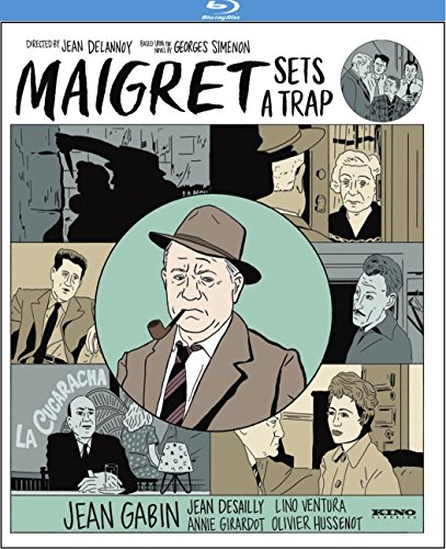 Blu-ray : Maigret Sets a Trap (Blu-ray)