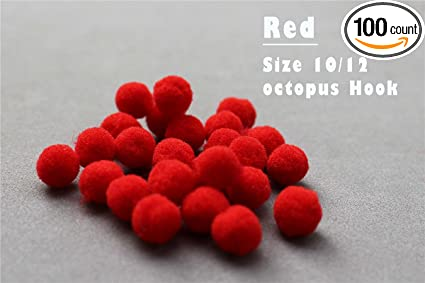 100pcs 3 Various Colors Glo Bug Fly Fishing Trout Fly Egg Bug Fly Tying Material