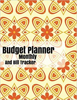 budget planner monthly and bill tracker with calendar 2018 2019