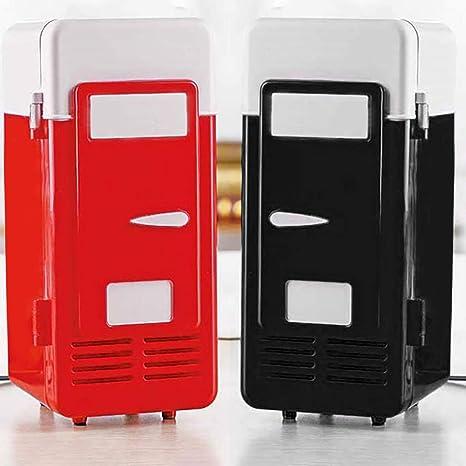 Feitb - Nevera mini USB, latas de bebidas portátiles, indicador ...