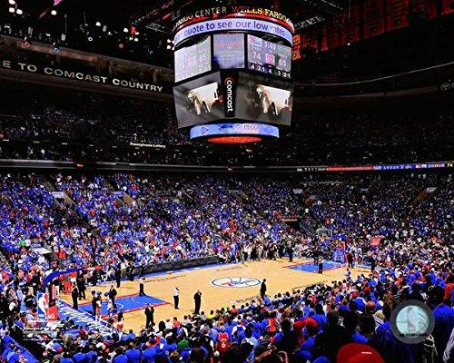 (Wells Fargo Center Philadelphia 76ers NBA Stadium Photo (Size: 8