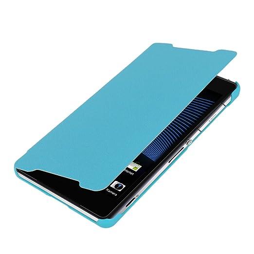 25 opinioni per kwmobile Cover per Sony Xperia Z2- Custodia protettiva apribile a libro Case