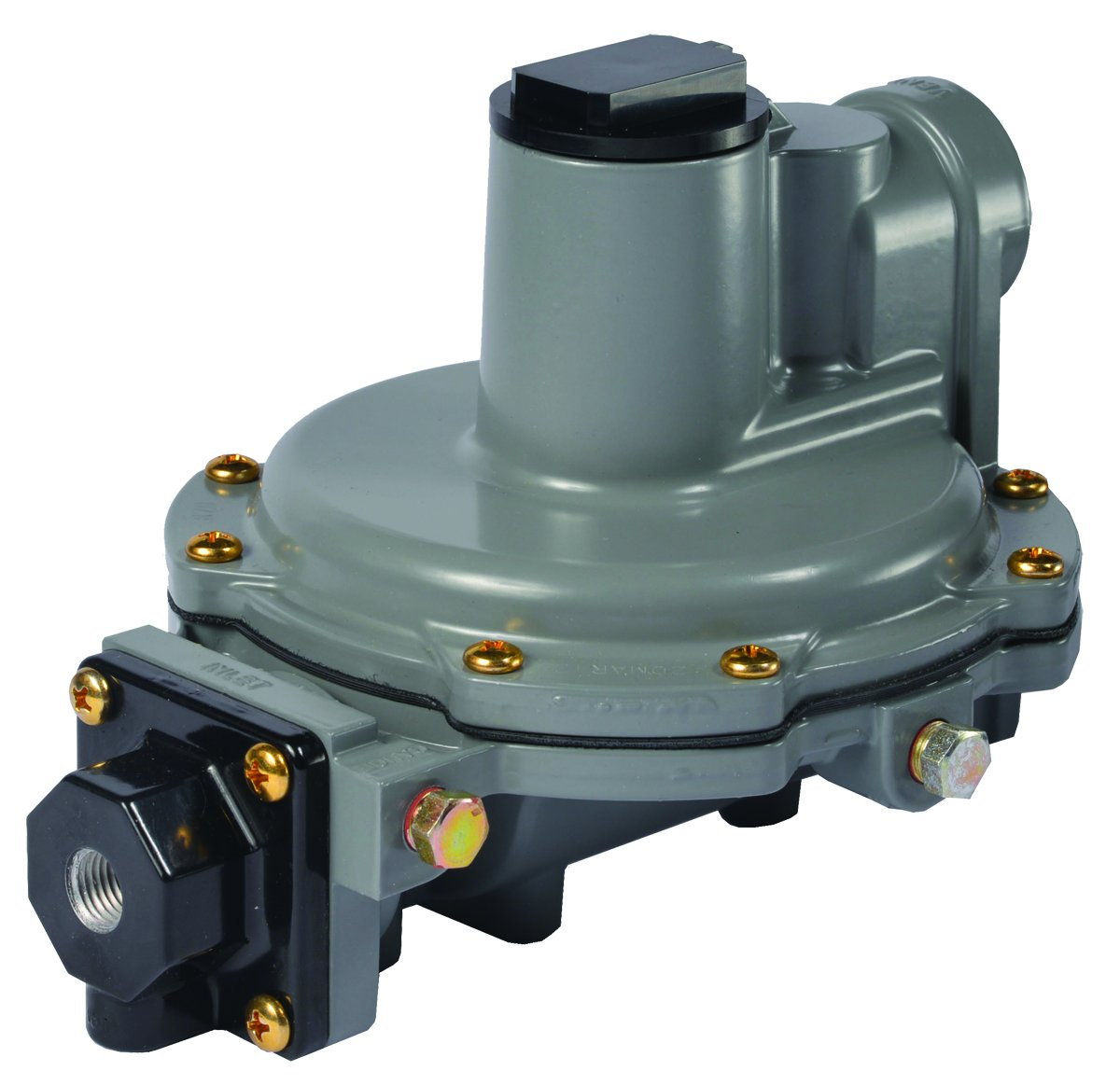 "Emerson-Fisher LP-Gas Equipment R632A-CFF Integral 2-Stage Regulator, 9-13"" W.C Spring, 1/4"" x 3/4"" NPT"