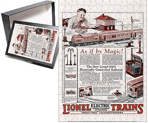 Photo Jigsaw Puzzle Of Toy Electric Train Ad Ad Train