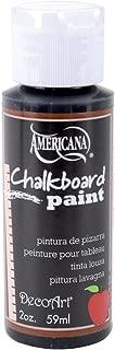 product image for DecoArt Americana Chalkboard Paint, 2-Ounce, Black Slate