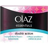 OLAZ Essentials Crème de jour hydratante pour peaux sensibles Double Action 50 ml