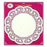 Kitchen & Housewares : Beistle Fanci-Lace Doilies, 16-Inch