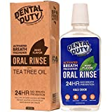 All Natural Mouthwash - Made in USA - REMOVES BAD BREATH and TOOTH PLAQUE - Best Alcohol Free Oral Rinse for Tartar Defense, Fresher Breath, and Healthier Gums - Mint Flavor.