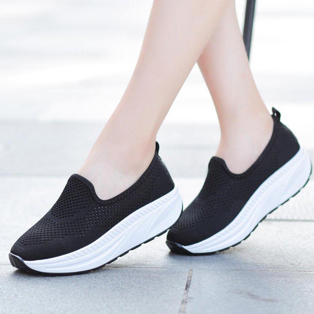 XUE Damenschuhe Mesh Frühling Herbst Loafers & Slip-Ons Fahr Schuhe Schuhe Schuhe Fitness Shake schuhe Shake Schuhe Shaking Schuhe Flache Loafers Turnschuhe Sportschuhe Plateauschuhe (Farbe   C Größe   42) d5e889