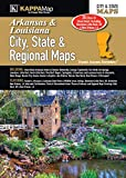 Arkansas & Louisiana City, State, & Regional Maps