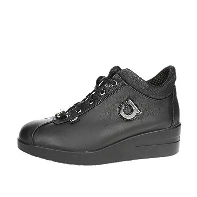 Rucoline Agile 226 Zapatillas de cuña Mujer Negro 40: Amazon.es: Zapatos y complementos
