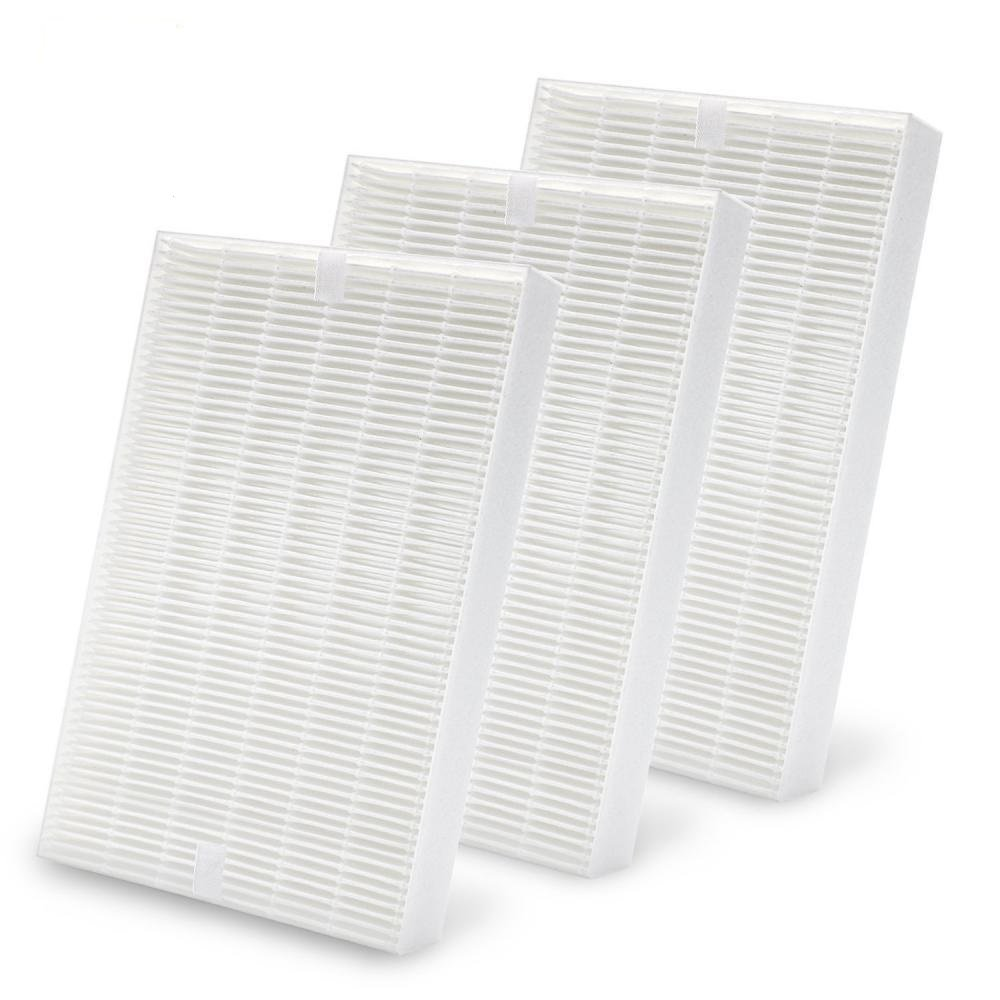 Ximoon 3 Pack Air Purifier HEPA Filters for Honeywell R Filters, HRF-R2, HRF-R3; Fit HPA-090 HPA-100 HPA200 & HPA300 Series