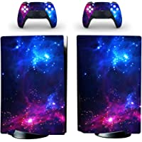 Decal Moments PS5 Standard Disc Console Controllers Full Body Vinyl Skin Sticker Decals for Playstation 5 Console and…