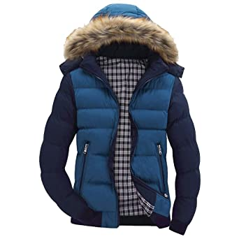 Mäntel Jacke Weihnachtsaktion Stand Dicken Winterjacke HerrenSANFASHION Zipper Männer Cotton Outwear Winter Warme dCxBeo