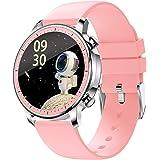 BINDEN Smartwatch V23 Pro Muestra Notificaciones, Monitor de Salud y Deportes, Compatible con iOS y Android, Rosa