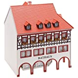 Faller 130491 Town Hall with Corner Arcade HO Scale Building Kit