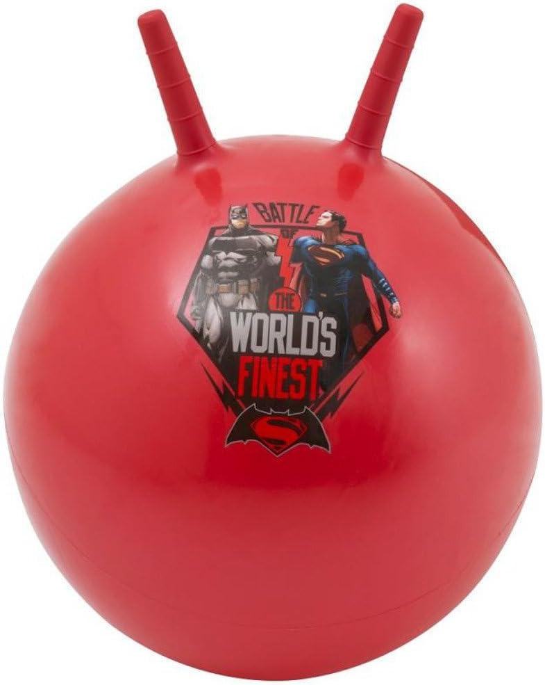 DC Batman vs. Superman hüpfball Salto pelota de ejercicios: Amazon ...