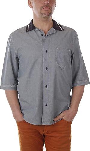Diesel S-Westy Camisa Hombre (L, Azul): Amazon.es: Ropa y accesorios